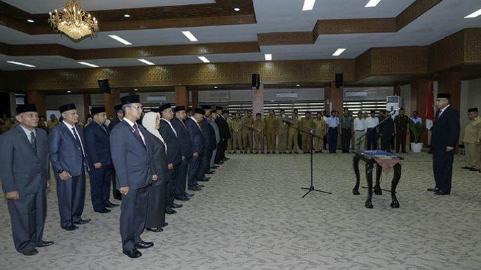 Siang Ini, Gubernur Aceh Kembali Lantik Sejumlah Pejabat Eselon II, Sekda Lantik Eselon III dan IV
