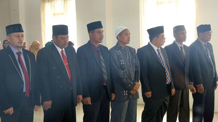 Rektor IAIN Lhokseumawe Lantik Tujuh Pejabat Baru, Ini Nama dan Jabatannya