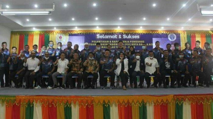 Pengurus Cabor Squash Kota Banda Aceh Dilantik, Jadi Pengcab PSI Pertama Dikukuhkan di Aceh