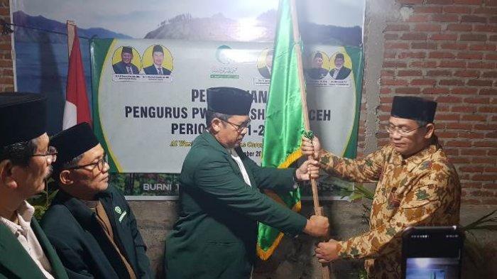 Pengurus Al-Washliyah Aceh Dilantik Seraca Virtual, Ini Pesan KH Masyhuril Khamis