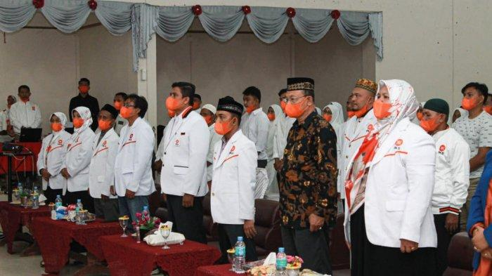 200 Dewan Pengurus Ranting PKS Se-Kota Lhokseumawe Dilantik