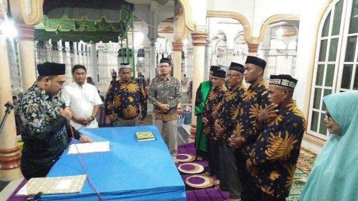 Tuha Peut Gampong Turue Cut Pertanyakan LPJ