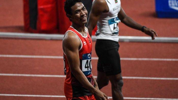 Jelang Tampil di Trek Olimpiade Tokyo 2020, Lalu Muhammad Zohri Ungkap Kondisi dan Kesiapannya
