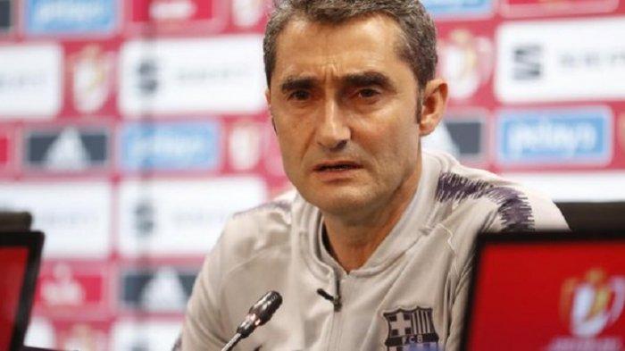 Ini Komentar Pelatih Barcelona Setelah Gagal Raih Gelar Copa del Rey