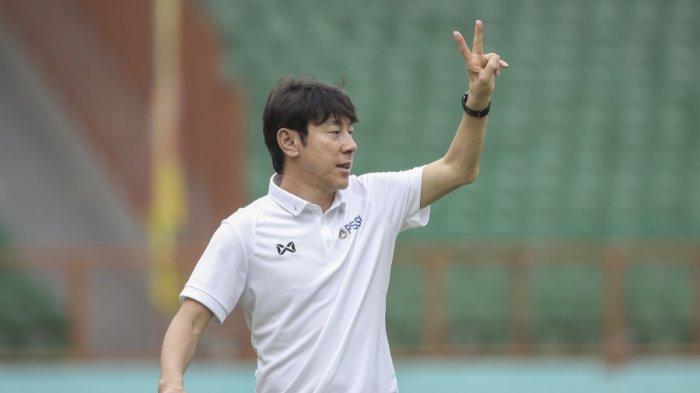 Timnas Indonesia Satu Grup Bersama Malaysia dan Vietnam, Shin Tae-yong: Siap Bekerja Keras