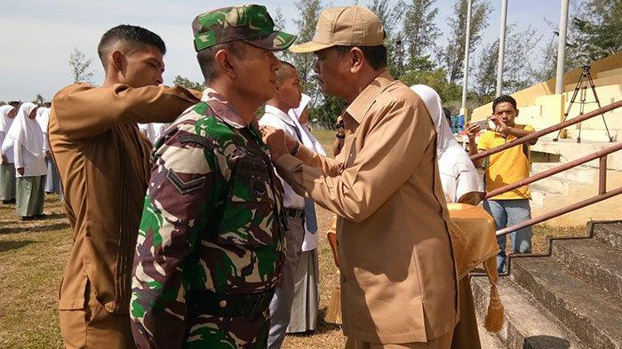 Wabup Aceh Singkil Buka Pelatihan Paskibra, Libatkan 73 Siswa SMA dan TNI/Polri