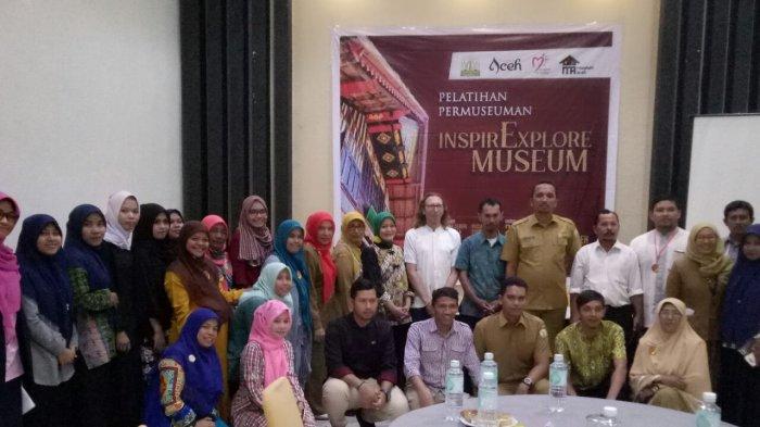 Gelar Pelatihan Teknik Museum, Ini Harapan Kadisbudpar Aceh