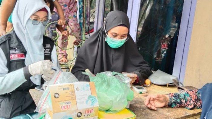MRI dan ACT Subulussalam Beri Layanan Kesehatan di Perbatasan Aceh-Sumut