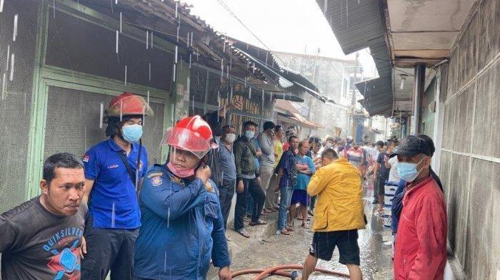 Kebakaran di MedanPetisah, 40 Hewan Peliharaan Hangus Terpanggang, Pemiliknya Selamat