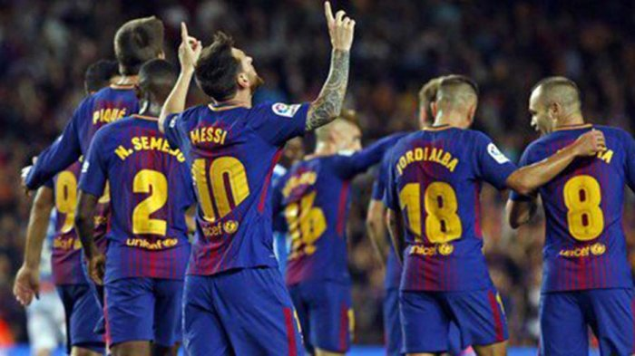 Ini Susunan Pemain Eibar Vs Barcelona, Tanding Pukul 22.15 WIB