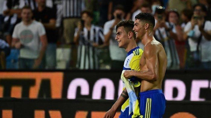 Ronaldo Gagal Menangkan Juventus, Menit 94 Cetak Gol, Menit 95 Dikartu Kuning, Menit 97 Gol Dianulir