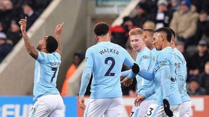 Hasil Liga Inggris - Man City Tampil Superior di Kandang Arsenal, Sterling Penentu Kemenangan