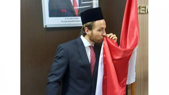 Pemain Persija Jakarta Marc Klok Resmi Jadi WNI, Ucap Sumpah Janji Setia dan Harapnnya untuk Timnas