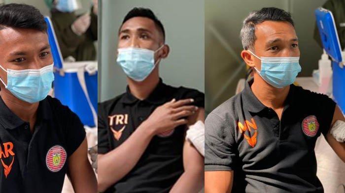 Piala Menpora 2021 - Pemain Persiraja Jalani Vaksinasi, Fokus Jelang Laga Versus Bali United