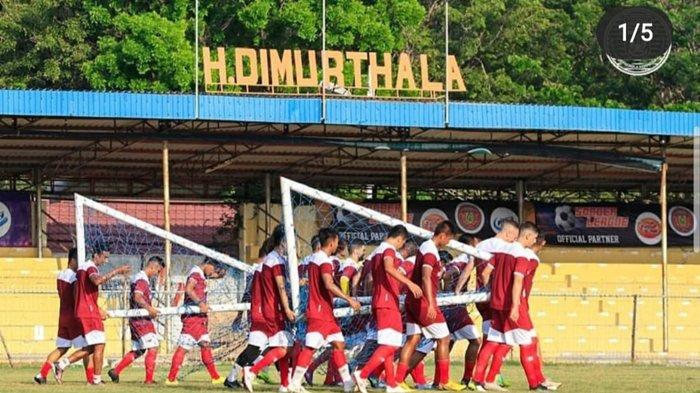 Sejarah Stadion H Dimurthala Lampineung, Proses Pembuatan Tidak Sampai 3 Bulan