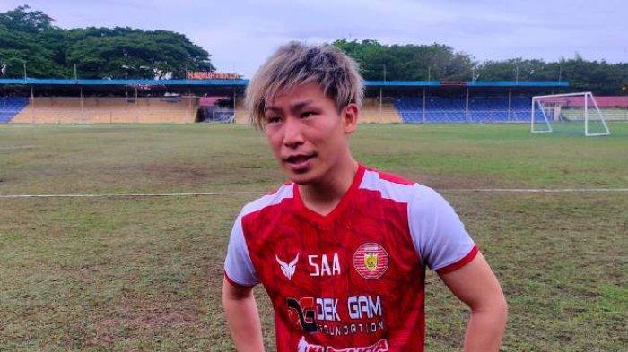 Tiba di Banda Aceh, Gelandang Persiraja Asal Jepang Shori Murata Langsung Latihan, Ini Profilnya