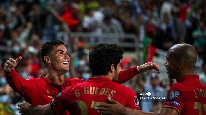 Hasil Kualifikasi Piala Dunia 2022: Ronaldo dan Portugal Pesta Gol, Inggris Ditahan Hungaria