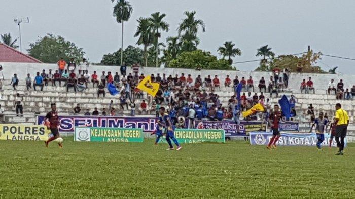 Babak Pertama, Persidi Aceh Timur Ungguli PSBL Langsa