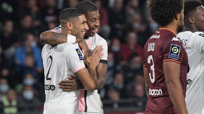 Tanpa Kehadiran Lionel Messi, Paris Saint-Germain Tetap Tak Terkalahkan di Ligue 1 Prancis