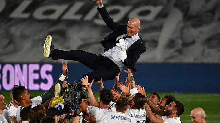 Nasib Zinedine Zidane di Ujung Tanduk, Survei Membuktikan tak Lagi Dipercaya Suporter