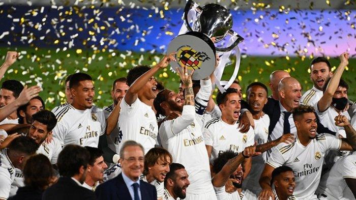 Real Madrid Masih Klub Paling Kaya Senilai Rp 50,6 Triliun, Disusul Barcelona dan Manchester United