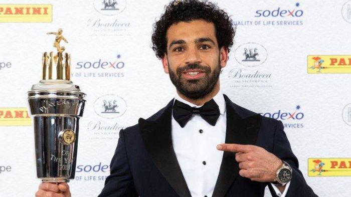 Kalahkan De Bruyne dan Kane, Mohamed Salah Sabet Gelar Pemain Terbaik FWA Footballer of The Year