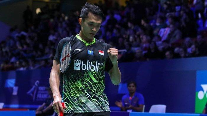 Hasil Lengkap Babak Pertama Thailand Open 2021, Jonatan Christie dan 5 Wakil Indonesia Tersingkir