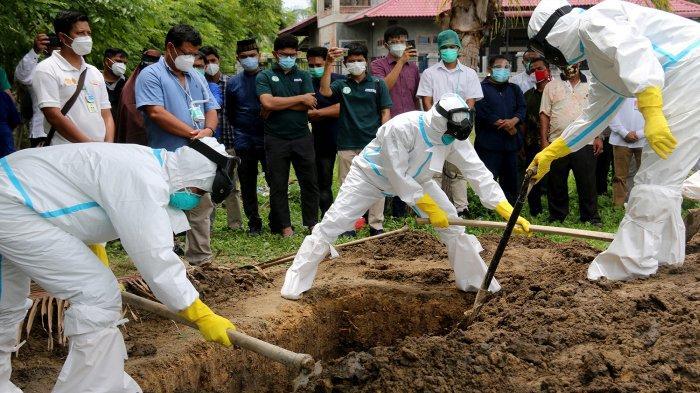 Istri dan Anak tak Hadiri Pemakaman dr Imai Indra, Karena Positif Covid-19 dan Dirawat di RSUZA