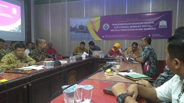 Pelaku Usaha di Aceh Singkil Paparkan Konsep Pengembangan Ekonomi Bahari