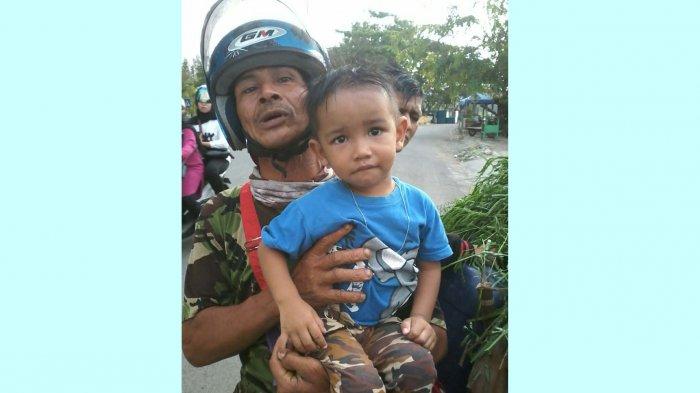 Pembabat Rumput Temukan Bocah Laki-laki di Ulee Lheue, Sang Anak tidak Mau Ditinggalkan