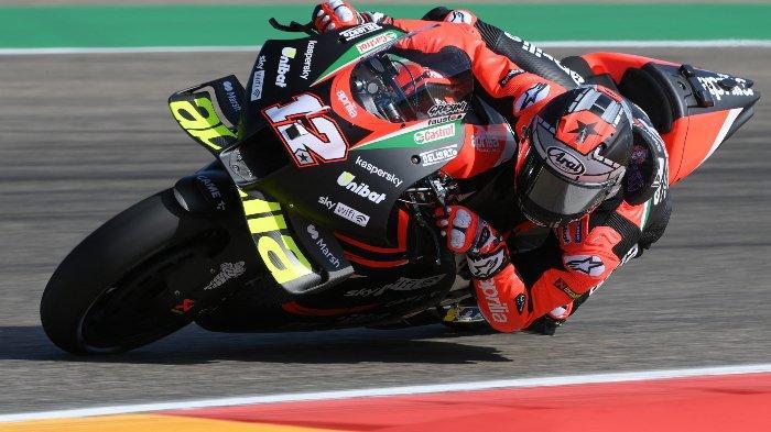 Live Streaming FP3, FP4 & Kualifikasi MotoGP Aragon 2021 – Maverick Vinales Belum Beradaptasi