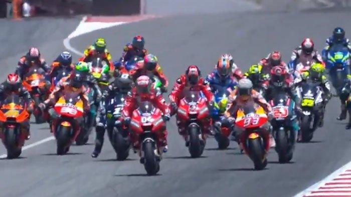 Live Streaming MotoGP Italia 2021, Marc Marquez Optimistis Tampil Maksimal Pascacedera