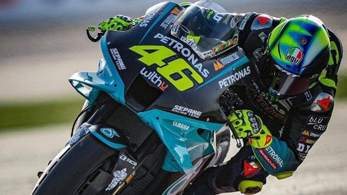Hasil Lengkap Kualifikasi MotoGP Doha 2021-Valentino Rossi Makin Berat, Start Posisi 2 dari Belakang