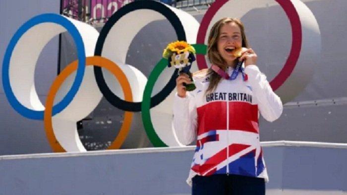 Pembalap Wanita Sepeda BMX Inggris Raih Medali Emas Olimpiade Tokyo, Walau DIbawah Panas Terik