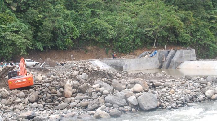 Proyek Irigasi Lhoksandeng Diharap Selesai Tepat Waktu