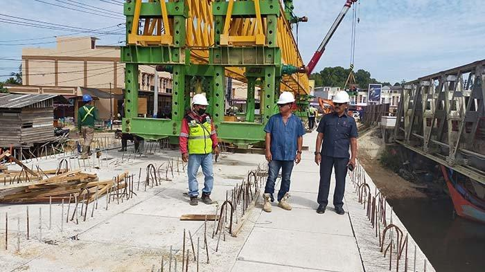 Pembangunan Jembatan Ganda Peureulak dan Idi Capai 80 Persen, Akhir Oktober 2021 Sudah Bisa Dilewati