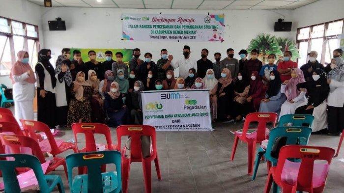 Cegah Stunting, Remaja Timang Gajah, Bener Meriah Dapat Pembekalan