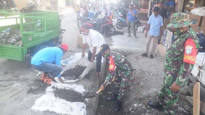 Cegah Covid-19, Pemkab Pijay Gelar Pembersihan Kota Meureudu