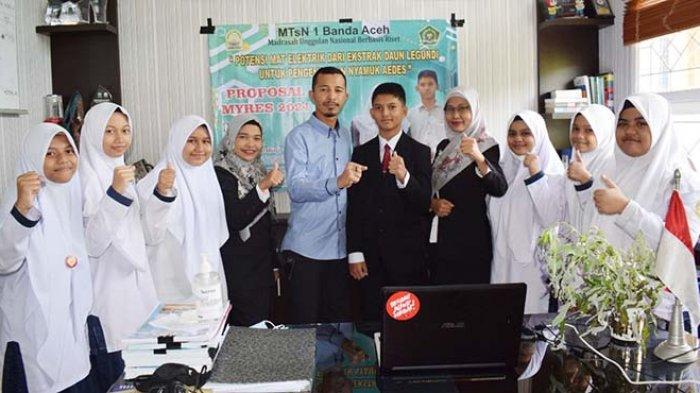 Pelajar MTsN Model Banda Aceh Tampil di Ajang Myres Nasional