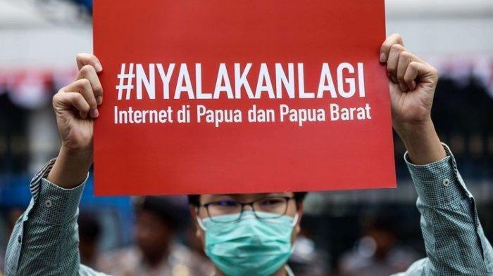 15 Hari Diblokir, Warga 29 Kabupaten di Papua dan Papua Barat Mulai Bisa Akses Internet Lagi