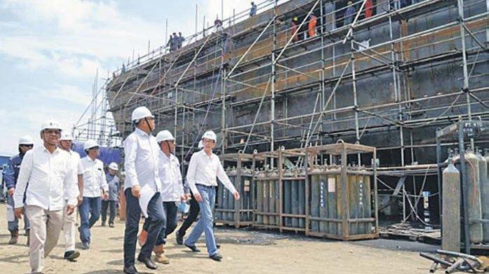 Plt Gubernur Kunjungi Perusahaan Galangan Kapal, Kapal Aceh Hebat 1 Akan Jadi Kado Akhir Tahun 2020