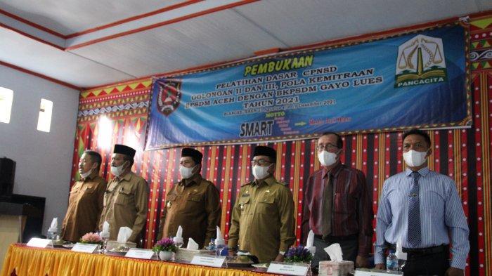 372 Peserta dari Enam Kabupaten/Kota di Aceh Ikut Pelatihan Dasar CPNS di Gayo Lues