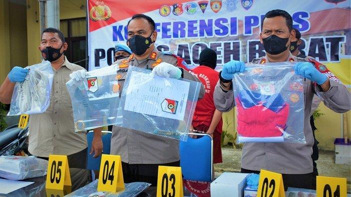 Pembunuh Nek Dahniar di Aceh Barat Terungkap, Ini Motif Pelaku Habisi Korban, Terkait Pinjam Uang