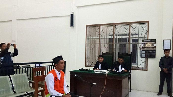 BREAKING NEWS - Pembunuh Sopir Travel di Aceh Singkil Dituntut Hukuman Mati
