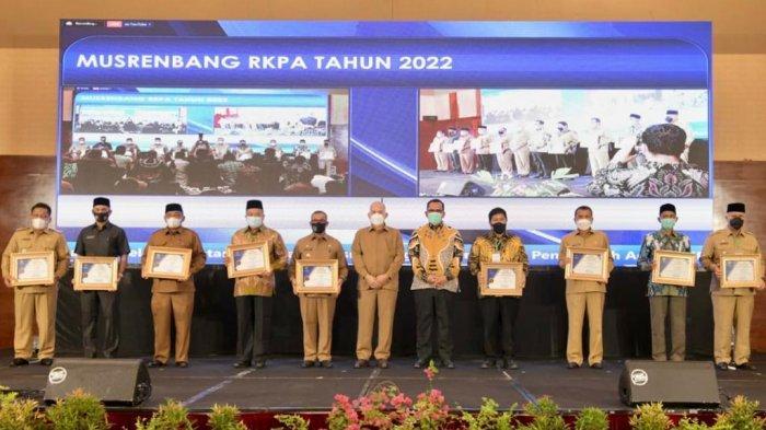 Kota Sabang Raih Juara Dua Anugerah Prof A Madjid Ibrahim Ke-7 Tahun 2021