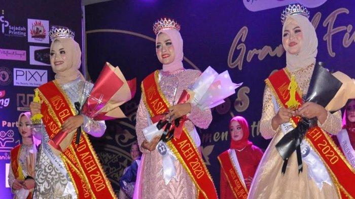 Utari Febrina asal Aceh Timur Dinobatkan Sebagai Miss Asia Global Aceh 2020