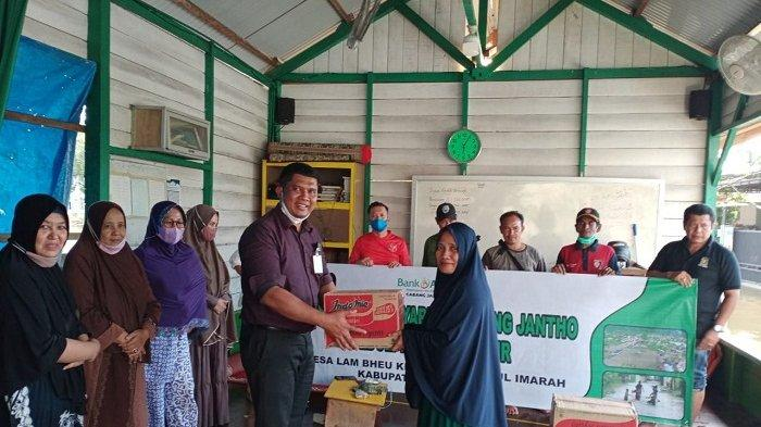 BAS Jantho dan Dinsos Aceh Besar Bantu Korban Banjir