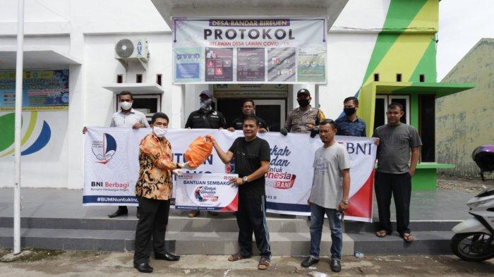 BNI Bireuen Salurkan Bantuan Sembako di Bireuen dan Aceh Tengah