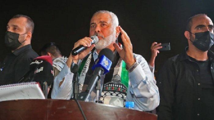 Pemimpin Hamas Tiba di Mesir, Melakukan Pertemuan dengan Faksi Palestina, Bahas Gencatan Senjata