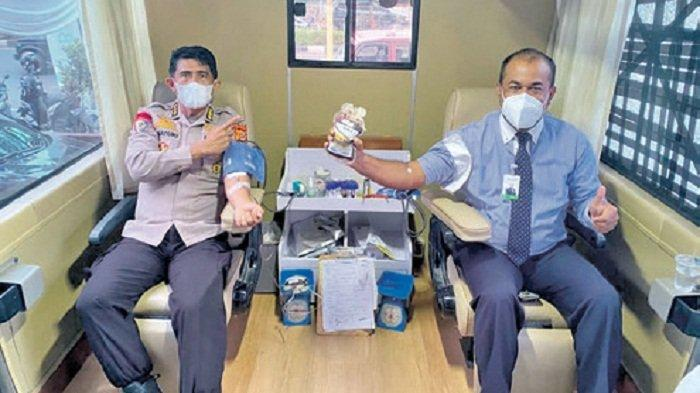 Bank Aceh Syariah KPO Kumpulkan Darah 42 Kantong